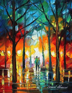 """""""Power of Faith"""" Painting by Leonid Abremov From redbubble.com"""